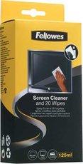 Fellowes Screen Spray and Wipes набор для чистки экранов, 120мл (FS-99701)