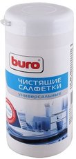 Buro чистящие салфетки универсальные, туба 65 шт влажных, 65 шт сухих (BU-Tmix)