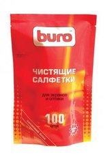 Buro чистящие салфетки для экранов и оптики, запасной блок к тубе, 100 шт (BU-ZSCREEN)