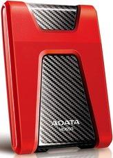 Внешний жесткий диск 1Tb ADATA HD650 Red (AHD650-1TU3-CRD)