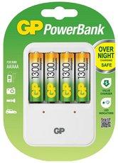 Зарядное устройство GP PB420GS130-2CR4 + 4x AA 1300mAh
