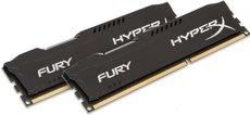 Оперативная память 16Gb DDR-III 1600MHz Kingston HyperX Fury Black (HX316C10FBK2/16) (2x8Gb KIT)