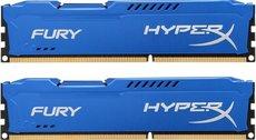 Оперативная память 8Gb DDR-III 1600MHz Kingston HyperX Fury (HX316C10FK2/8) (2x4Gb KIT)
