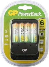 Зарядное устройство GP PB570GS270 + 4x AA 2700mAh
