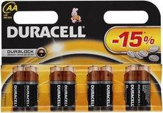 Батарейка Duracell Basic (AA, Alkaline, 8 шт)