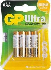 Батарейка GP 24AU Ultra Alkaline (AAA, 4 шт)