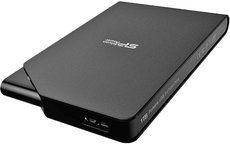 Внешний жесткий диск 2Tb Silicon Power Stream S03 Black (SP020TBPHDS03S3K)