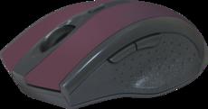 Мышь Defender Accura MM-665 Red (52668)