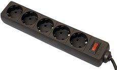 Сетевой фильтр Defender ES Black 1.8m
