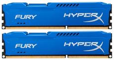 Оперативная память 8Gb DDR-III 1333MHz Kingston HyperX Fury (HX313C9FK2/8) (2x4Gb KIT)