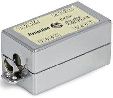 Проходной адаптер Hyperline CA-IDC-C5e-SH-F-WH