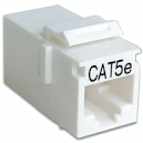 Проходной адаптер Hyperline CA2-KJ-C2-WH