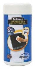 Fellowes Screen Cleaning Wipes салфетки для экранов, туба, 100шт (FS-22117)