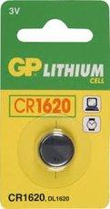 Батарейка GP CR1620 (Lithium, 1 шт)