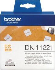 Адресные наклейки Brother DK11221