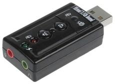 Звуковая карта C-Media TRUA71 (CM108) USB