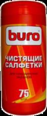 Buro чистящие салфетки для плазменных экранов, туба 75 шт (BU-TPSMA)
