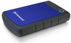 Внешний жесткий диск 1Tb Transcend StoreJet 25H3 Blue (TS1TSJ25H3B)