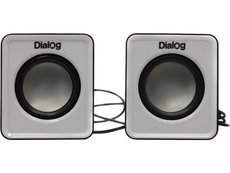 Колонки Dialog AC-02UP Black/White