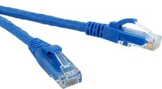 Патч-корд Hyperline PC-LPM-UTP-RJ45-RJ45-C6-0.5M-LSZH-BL