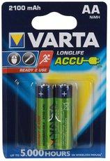 Аккумулятор Varta (AA, 2100mAh, 2 шт)