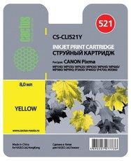 Картридж Cactus CS-CLI521Y