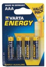 Батарейка Varta Energy (AAA, 4 шт)