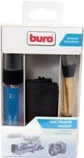 Buro BU-PHOTO+VIDEO комплект для очистки фото/видеотехники, салфетки, гель и кисточка