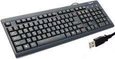 Клавиатура Gembird KB-8300U-BL-R Black USB