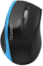 Мышь Canyon CNR-MSO01NBL Black/Blue