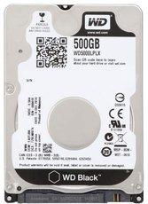 Жесткий диск 500Gb SATA-III Western Digital Black (WD5000LPLX)