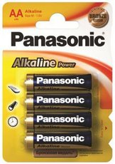 Батарейка Panasonic Power Bronze (AA, Alkaline, 4 шт)