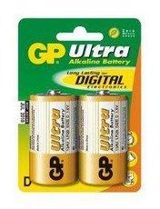 Батарейка GP 13AU Ultra Alkaline (D, 2 шт)