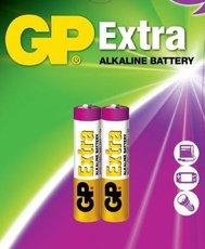Батарейка GP 24AX Extra Alkaline (AAA, 2 шт)
