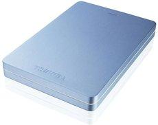 Внешний жесткий диск 500Gb Toshiba Canvio Alu Blue (HDTH305EL3AA)