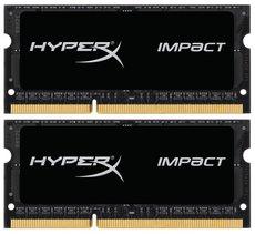 Оперативная память 16Gb DDR-III 1866MHz Kingston HyperX Impact SO-DIMM (HX318LS11IBK2/16) (2x8Gb KIT)