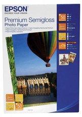 Бумага Epson Premium Semiglossy Photo Paper (C13S041765)