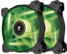 Вентилятор для корпуса Corsair SP120 Air Series LED Green High Static Pressure Twin Pack (CO-9050032-WW)