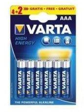 Батарейка Varta Energy (AA, 6 шт)