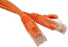 Патч-корд Hyperline PC-LPM-UTP-RJ45-RJ45-C5e-1M-LSZH-OR