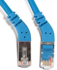 Патч-корд Hyperline PC-APM-STP-RJ45/L45-RJ45/L45-C5e-1M-LSZH-BL