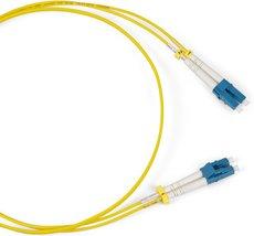 Оптический патч-корд Hyperline FC-D2-9-LC/AR-LC/AR-H-3M-LSZH-YL