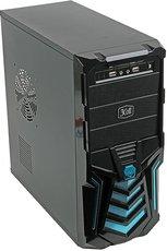 Корпус 3Cott 3C-ATX110GB Gladiator Black/Blue 500W