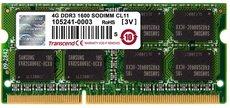 Оперативная память 4Gb DDR-III 1600Mhz Transcend SO-DIMM (TS512MSK64V6N)