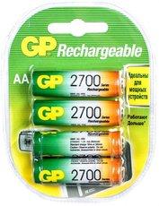 Аккумулятор GP (AA, NiMH, 2700mAh, 4 шт)