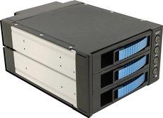 Корзина для жестких дисков Procase A3-203-SATA3-BL