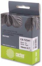 Лента для печати наклеек Cactus CS-TZ241