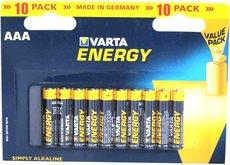 Батарейка Varta Energy (AAA, 10 шт)