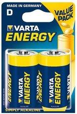 Батарейка Varta Energy (D, 2 шт)