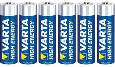 Батарейка Varta High Energy / Longlife Power (AA, 6 шт)